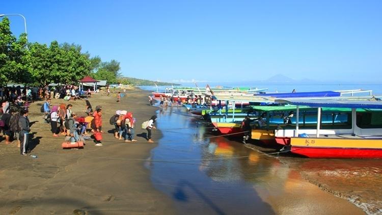Pelabuhan bangsal lombok