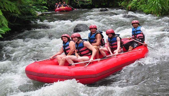 Tiket Rafting di Telaga Waja Bali terlaris tahun ini