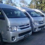Sewa Toyota Hiace di Kuta Bali dengan driver tak kenal lelah